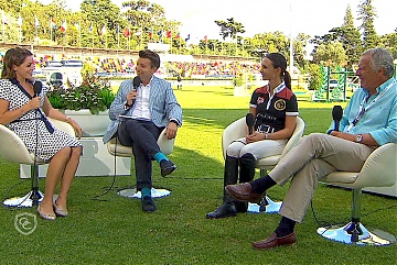 In the Studio GCL Cascais: Georgina Bloomberg and Duarte Nobre Guedes