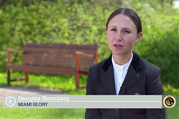 Team Talk: Miami Glory's Georgina Bloomberg