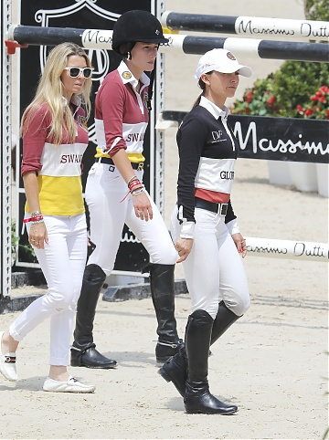 GCL of Monaco - Edwina Tops-Alexander, Jessica Springsteen and Georgina Bloomberg