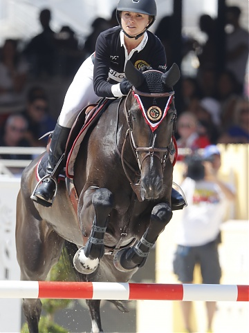 Georgina Bloomberg on Balou