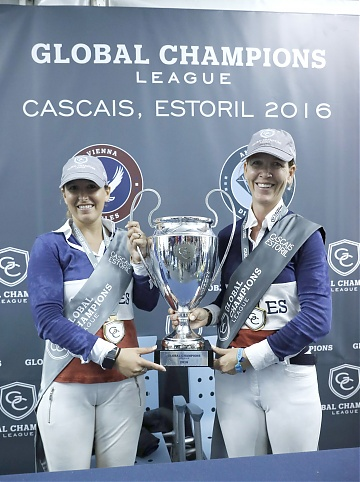 GCL of Cascais-Estoril - Team Vienna Eagles - Lauren Hough and Danielle Goldstein