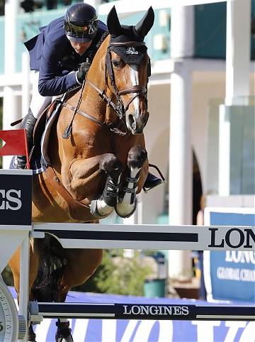 Eric Lamaze on Fine Lady 5