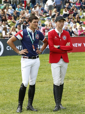 Team London Knights' Nicola Philippaerts and Martin Fuchs