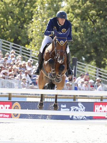 Team Prague Lions - Marc Houtzager (NED) on Sterrehof's Calimero