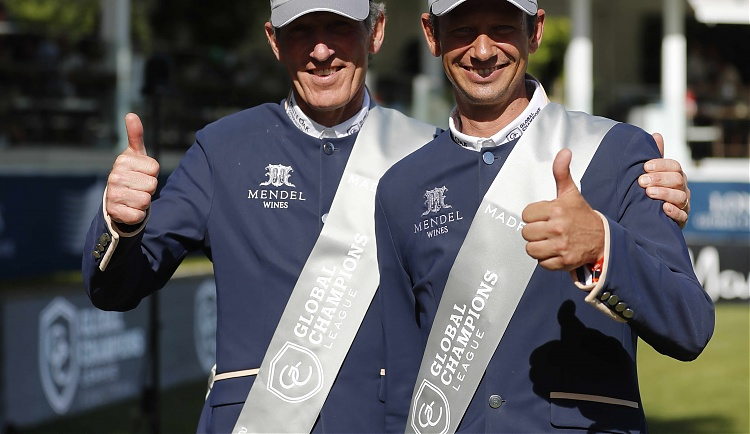Beerbaum and Kutscher talk tactics and winning as GCL Championship hots up