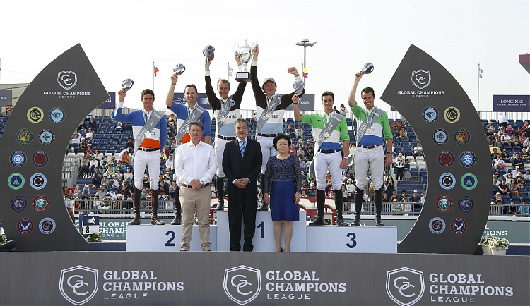 Young Show Jumping Stars Shine in Sensational Shanghai Global Champions League